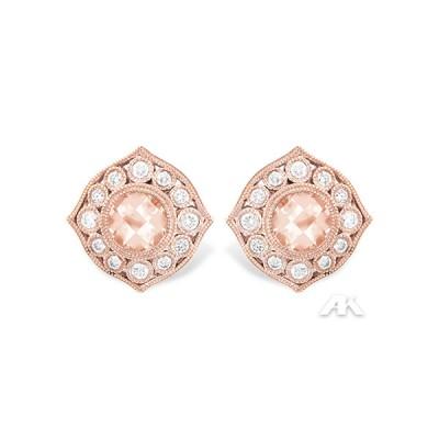 Allison Kaufman Morganite Earrings